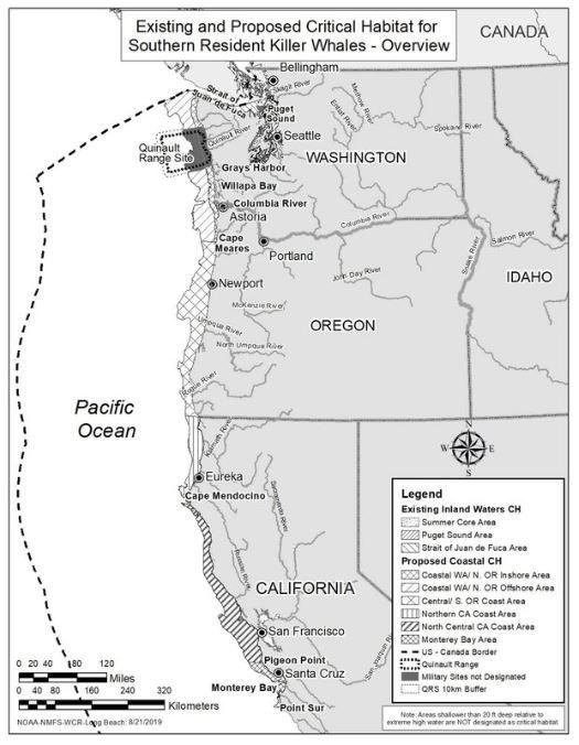 proposed critical habitat expansion