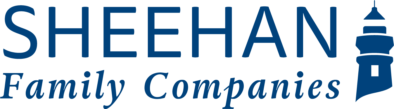 Sheehan Family Companies logo showing a lighthouse silhouette