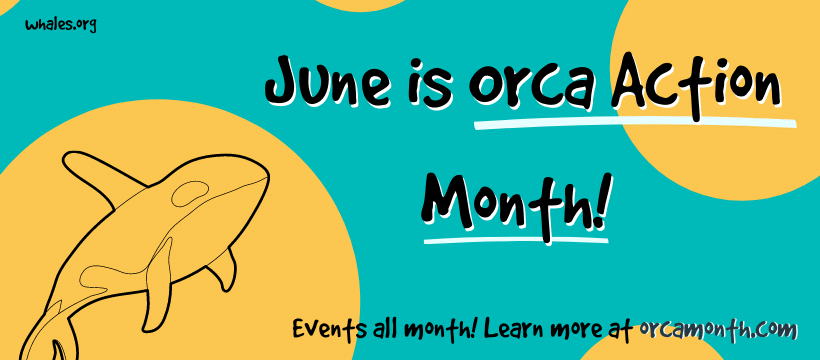 Orca Month banner